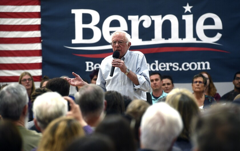 Sen. Bernie Sanders, who is recovering from a heart procedure, plans to be onstage at the Oct. 15 Democratic debate.