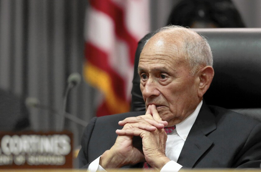 The L.A. Board of Education has begun its search to find a long-term replacement for Supt. Ramon C. Cortines.