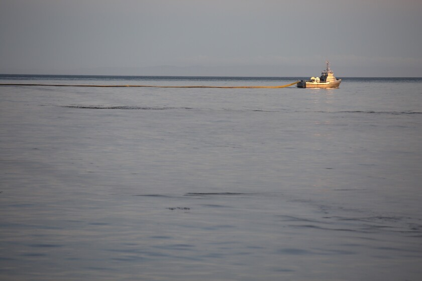 Pipeline company indicted in 2015 Santa Barbara County oil spill