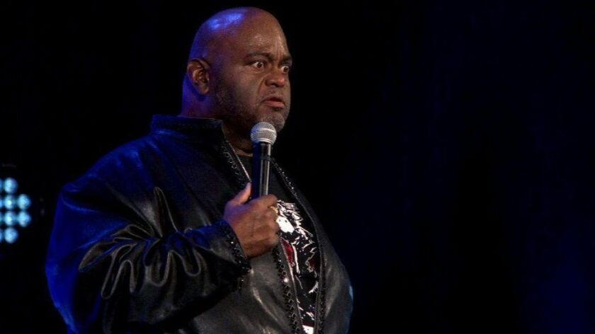 """Lavell Crawford: New Look Same Funny"" on Showtime."