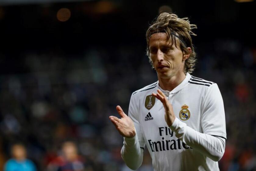 El centrocampista croata del Real Madrid, Luka Modric. EFE/Archivo
