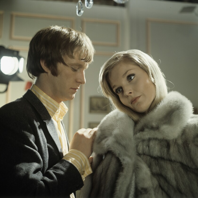 Carol Lynley with Dennis Waterman