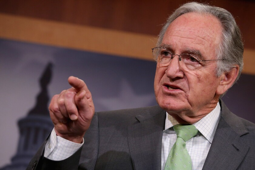 Tom Harkin, (D-Iowa), retiring from the U.S. Senate after 40 years, blames fundraising, loss of personal relationships for Senate gridlock.