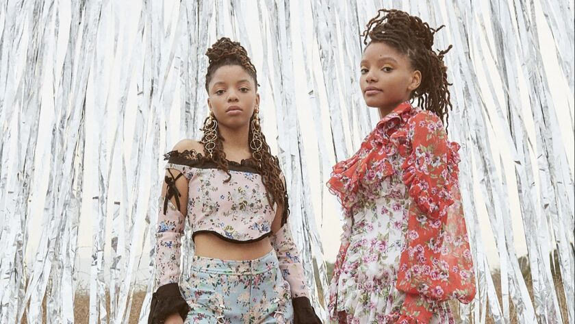 Halle and Chloe Bailey, a.k.a. the R&B act Chloe X Halle, will perform at the Coachella Valley Music and Arts Festival. The sisters, who are signed to Beyoncé's entertainment label, are looking forward to Queen Bey's performance at the festival this year.