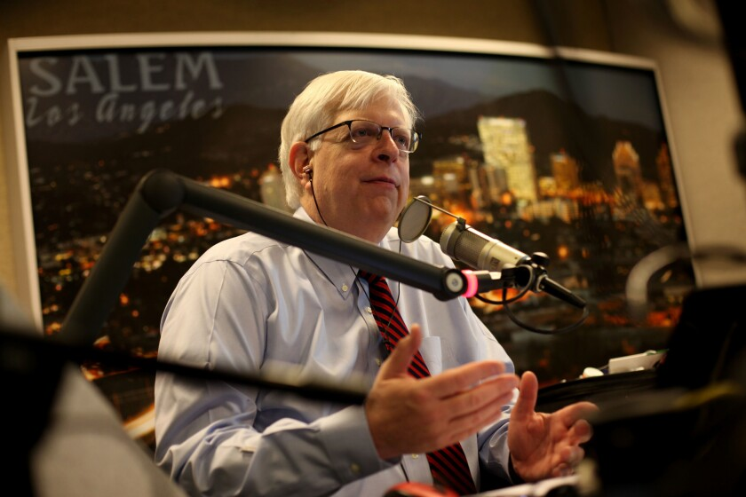 Letters to the Editor: How the L.A. Times proved Dennis Prager's point on liberal intolerance