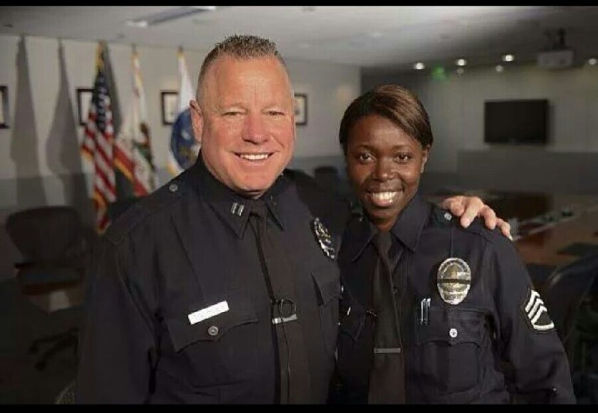 LAPD couple recognized by white house
