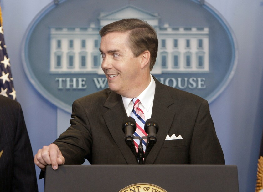 El presidente de la Asociación de Corresponsales de la Casa Blanca, Steve Scully