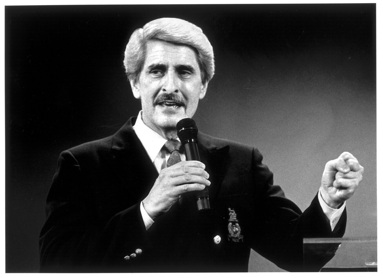 Paul Crouch (1934-2013) -- A pioneering televangelist who founded Trinity Broadcasting Network.