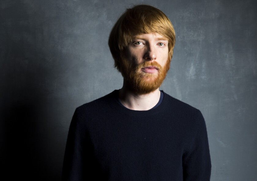 Domhnall Gleeson in the L.A. Times photo studio at the 40th Toronto International Film Festival on Sept. 14, 2015.