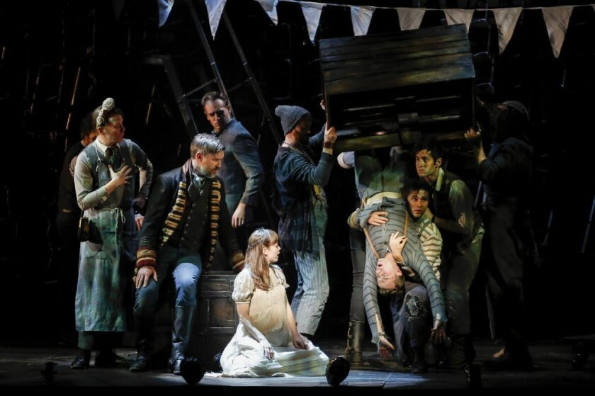 """Not really for children, and DEFINITELY not for infants: """"Peter and the Starcatcher"""" at the Ahmanson Theatre in downtown Los Angeles."""