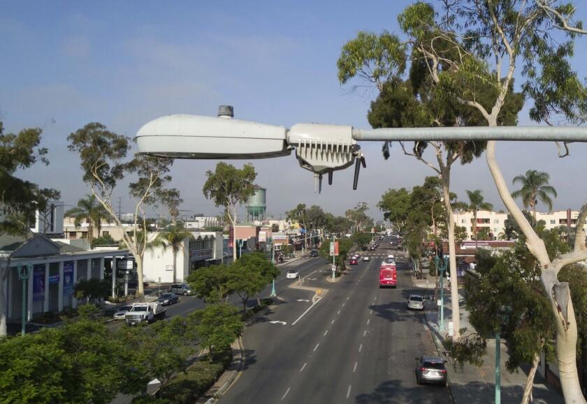 Smart street lamps