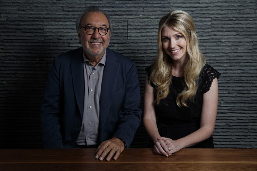 James L. Brooks and Kelly Fremon Craig with 'The Edge of Seventeen'