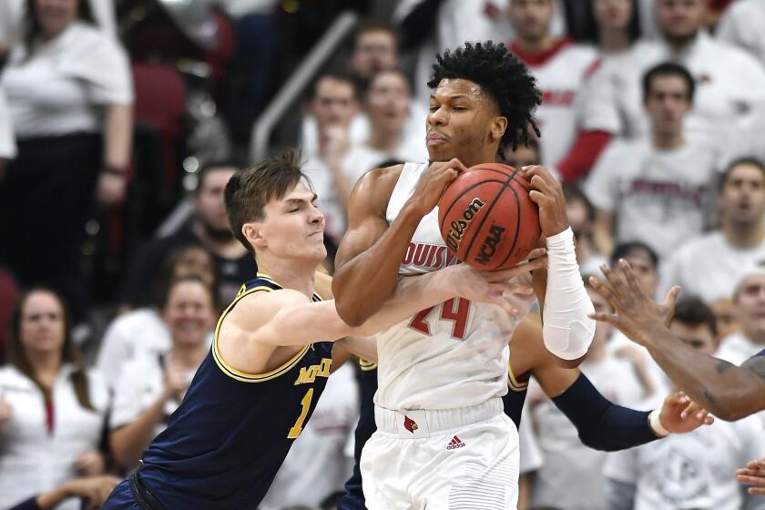 Michigan Louisville Basketball