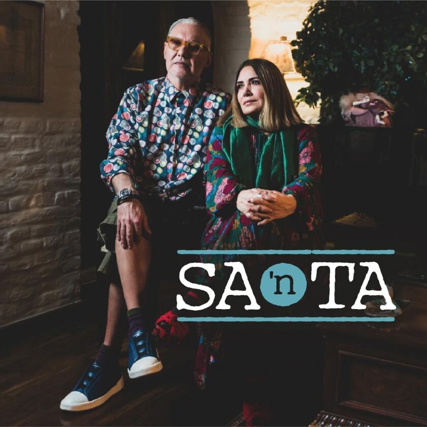 """En esta imagen proporcionada por SA'nTA la portada del sencillo """"Las Esperanzas"""" de Sabo Romo y Tania Libertad. S"""