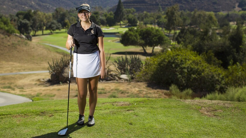 El Capitan's Breann Horn is ranked No. 1 in the Grossmont Conference.