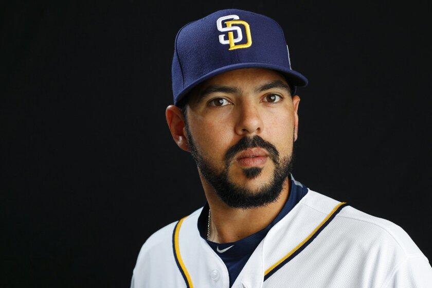 San Diego Padres pitcher Carlos Villanueva.