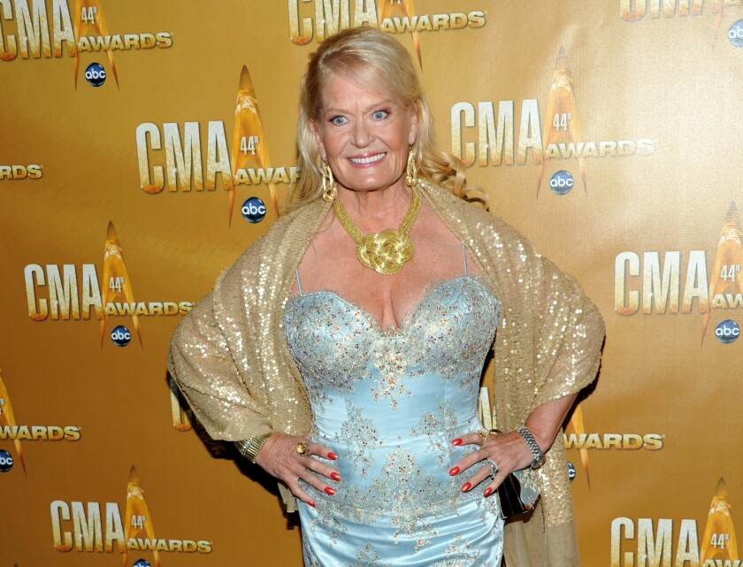 Lynn Anderson attends the 44th Annual Country Music Awards in Nashville in November 2010.