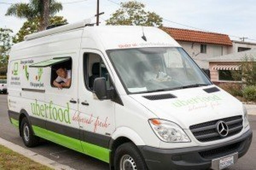 New company uberfood delivers organic dinners to the Carmel Valley and Del Mar communities on Wednesdays. Courtesy photo