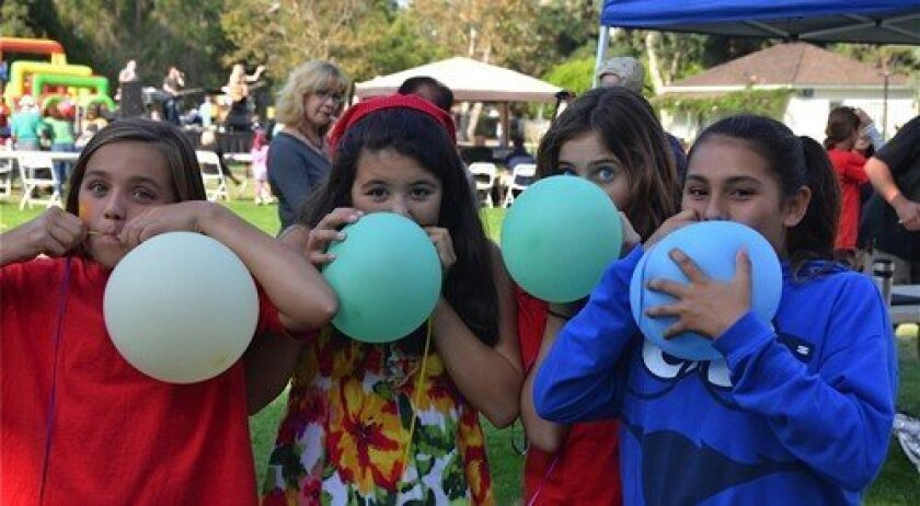 Girls having fun at the event (Photo: Maria McEneany)