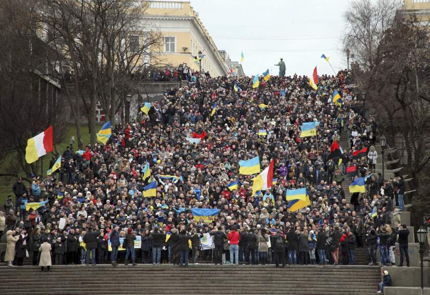 Ukraine demonstration