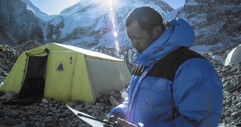 "Phurba Tashi in Jennifer Peedom's ""Sherpa."""