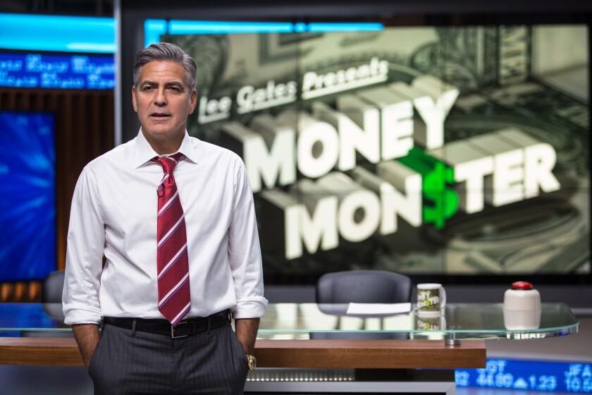 George Clooney in 'Money Monster'