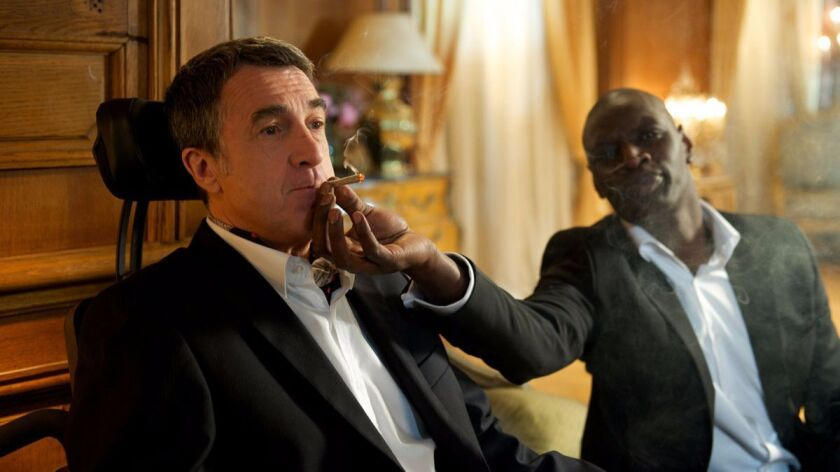 """Francois Cluzet and Omar Sy in """"The Intouchables."""""""