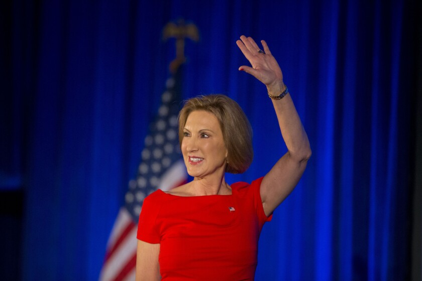 Fiorina will raise money after the debate