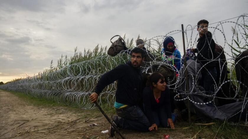Casi 400.000 migrantes atravesaron Hungría el año pasado en su camino hacia la Europa occidental.