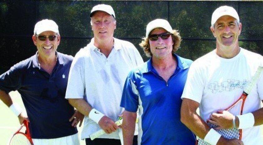 Jeff Carmel, Bill Matzinger, John Thompson, Tom Vitale (Photo: Jon Clark)