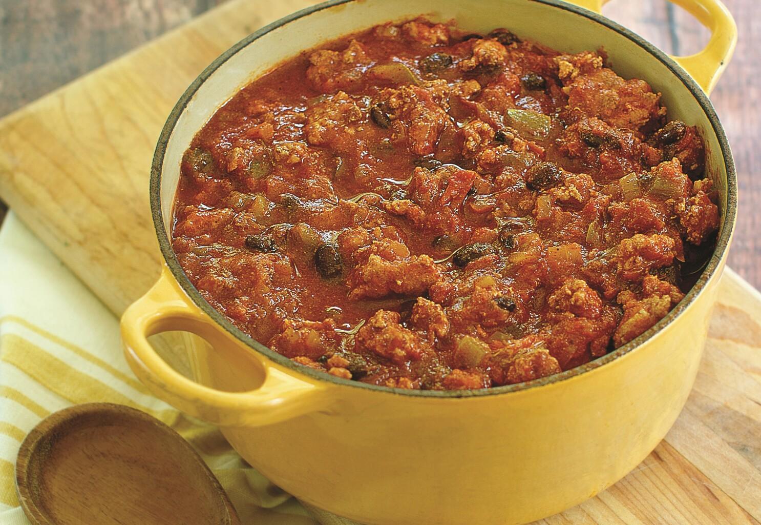 Chili recipe for a keto diet