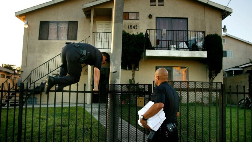 Thursday's ruling halting a gang injunction against an Echo Park man is the latest in a lawsuit alleging that Los Angeles obtains gang injunctions without giving people the chance to first contest the orders in court.