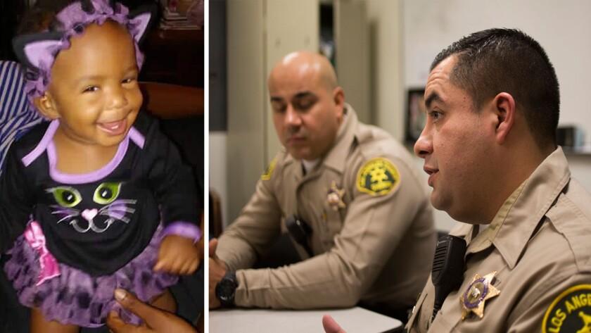 Autumn Johnson, Compton deputies