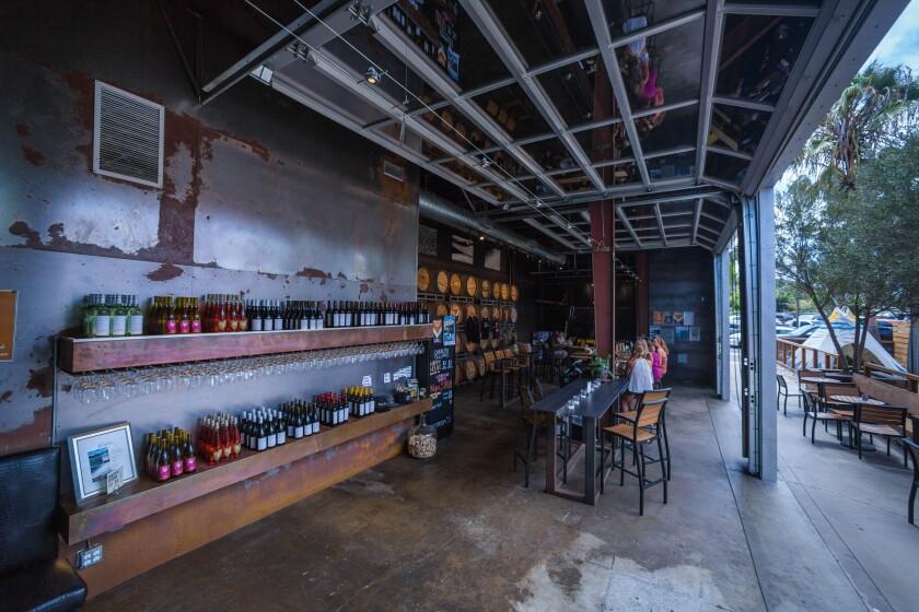 Carruth Cellars' Carlsbad tasting room