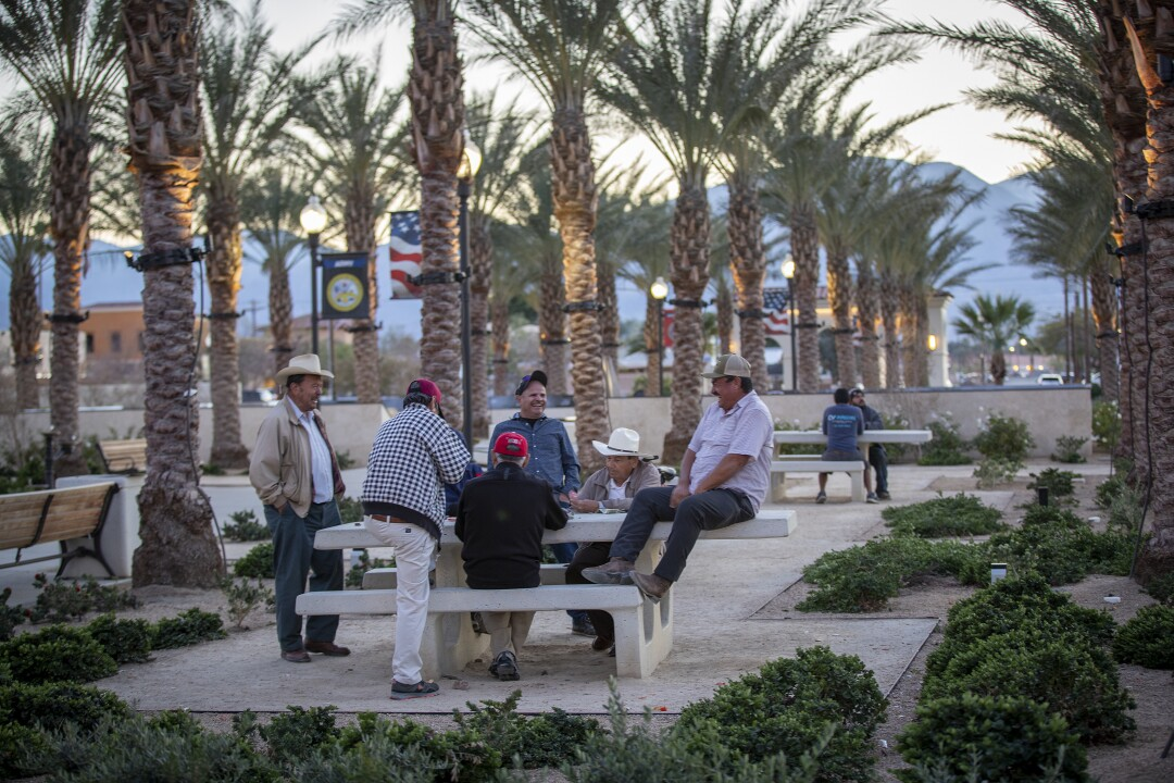 Coachella's political representatives have applied for and won millions of dollars in state grants to upgrade parks in the city.