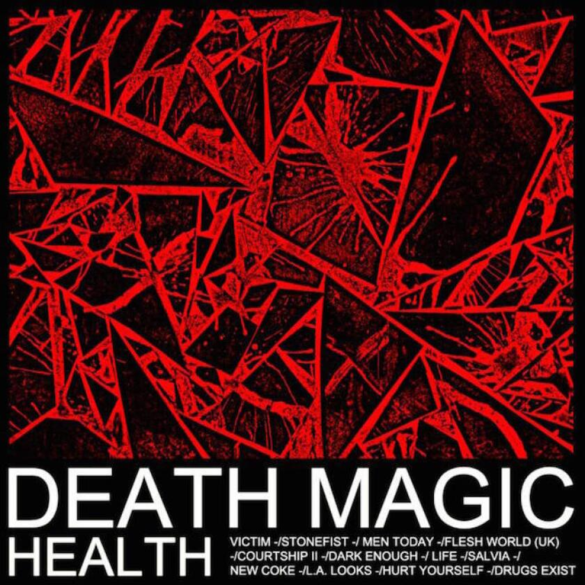"""The covert art for Health's new LP """"Death Magic."""""""