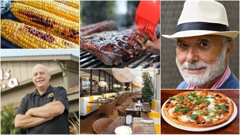 Sammy's Woodfired Pizza and Phil's BBQ are teaming up for a Father's Day special.