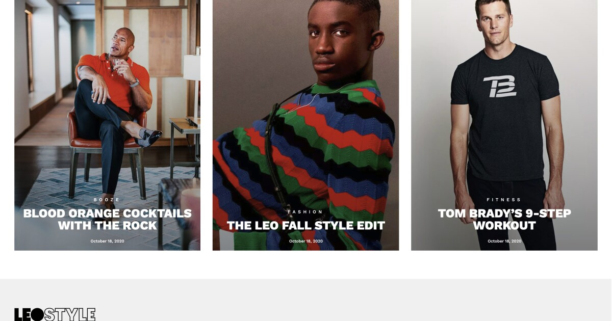Like Goop for guys: Celebrity stylist Ilaria Urbinati launches a men's lifestyle site
