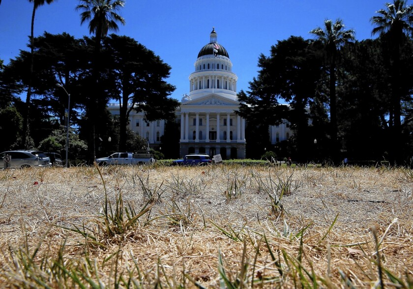 Drought at the state Capitol
