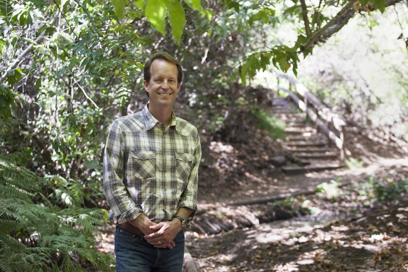 Arthur Jeppe, founding director of The Alumni Collective, is supporting the Environmental Nature Center so it can build a preschool. The Alumni Collective also helps fund scholarships for Newport Harbor High School graduating seniors.
