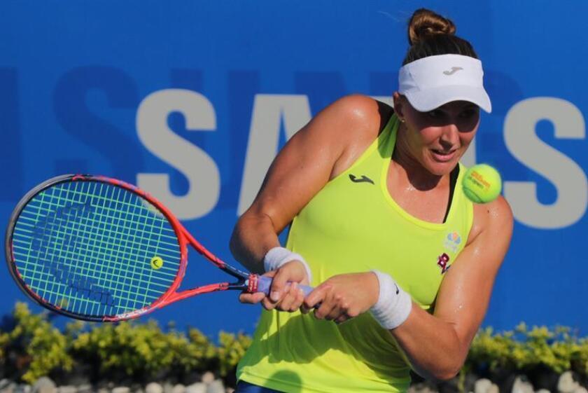 La tenista brasileña, Beatriz Haddad. EFE/Archivo