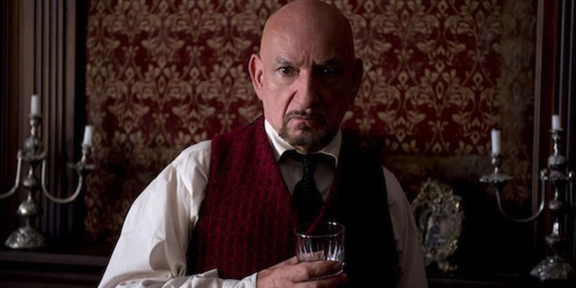 """Ben Kingsley in """"Stonehearst Asylum."""""""