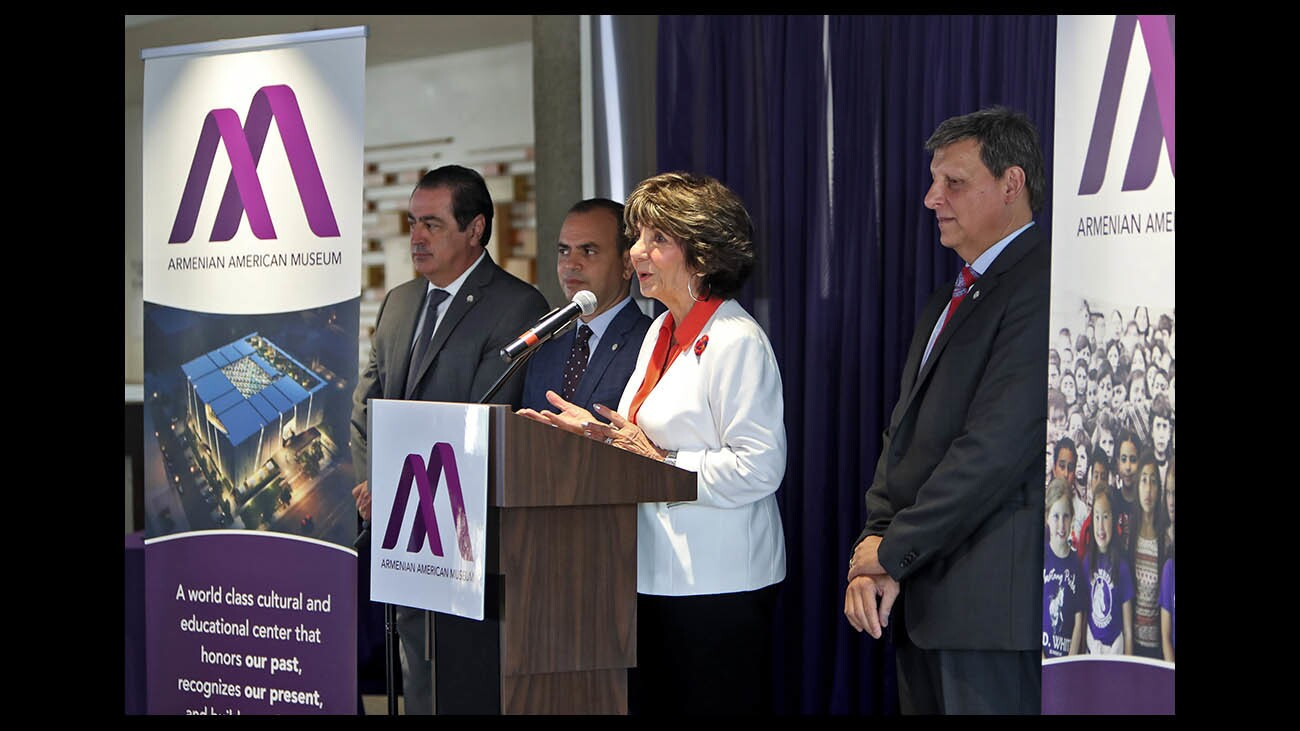 Photo Gallery: Press conference for the future Armenian American Museum in Glendale