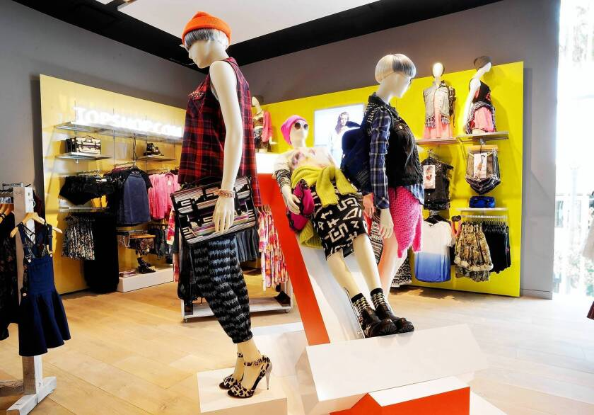 Topshop Topman at the Grove will have some lines exclusive to L.A.