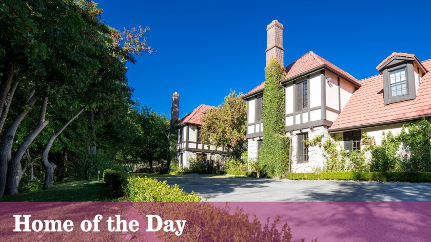 Home of the Day: A Tudor-style equestrian estate in Chatsworth