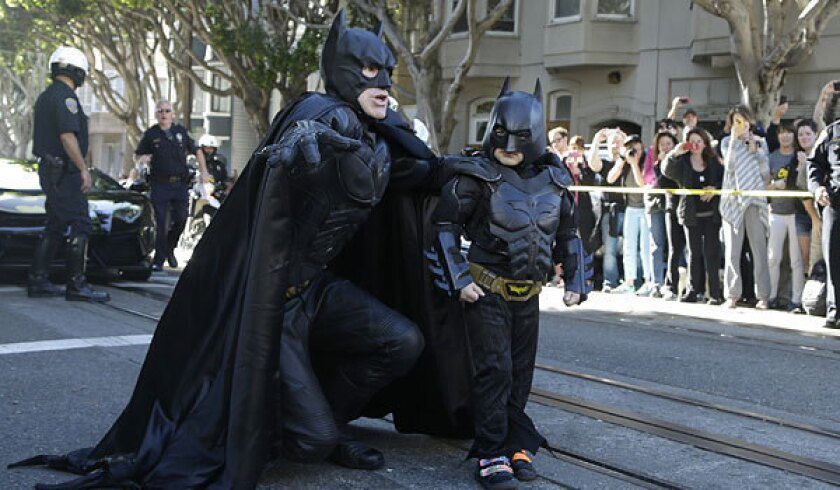 President Obama joins San Francisco's Batkid craze
