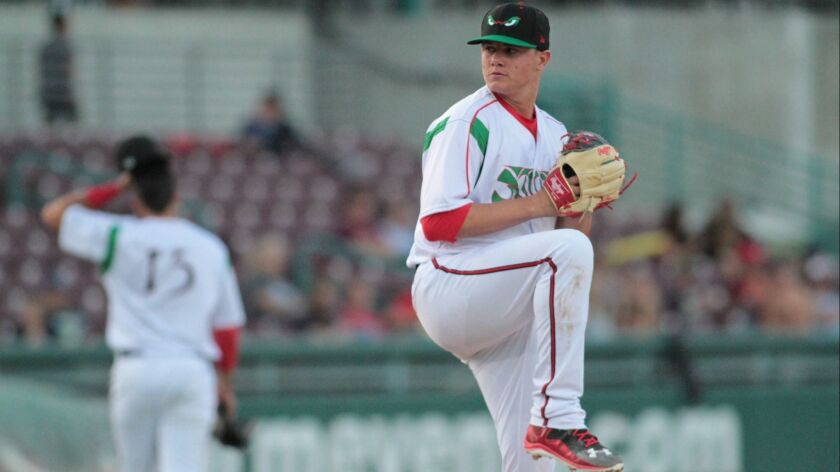 Padres pitching prospect Adrian Morejon started the 2018 season with high Single-A Lake Elsinore.
