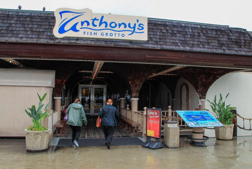 Anthony's Fish Grotto, a waterfront mainstay for nearly 50 years, could be replaced by a new restaurant as part of a competitive bidding process being launched by the Port of San Diego.