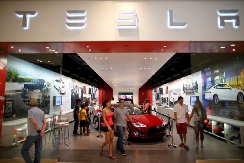 Will people buy electric cars, such as the Tesla, on the theory that they'd be better for the environment? Maybe, maybe not -- but a survey says more than half of Americans do consider the environment when making consumer purchases.