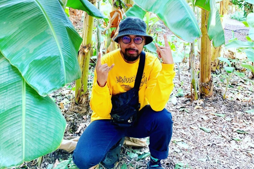 L.A.-based producer Mark Redito says he's obsessed with plants.